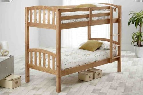 Mya Solid Pine Bunk Bed