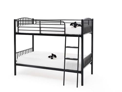 Oslo Black Gloss Bunk Bed