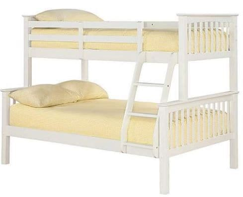Otto Trio Bunk Bed Off White