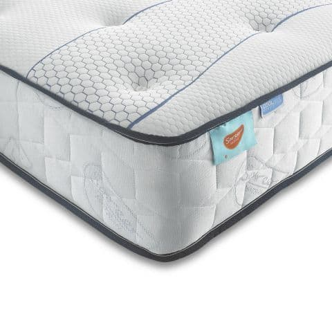 Sareer 1000 Pocket Sprung & Cool Blue Memory Foam Double 4ft6 Mattress