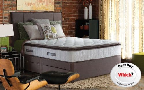Sealy Nostromo 1400 Pocket Sprung & Natural Latex Double 4ft6 Mattress