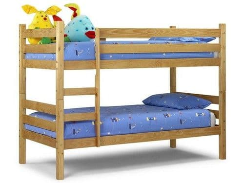Wyoming Pine Wooden Bunk Bed