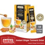 Gold Kili Instant Ginger Turmeric Drink with Honey