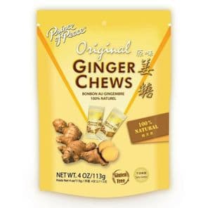 Prince of Peace Original Ginger Candy Chews 100% Natural Gluten Free