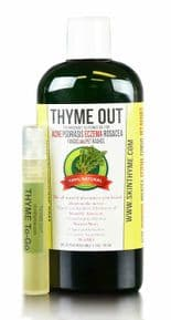 Thyme Out The Knockout Alternative For Eczema 8oz + 1/4oz To Go Bottle