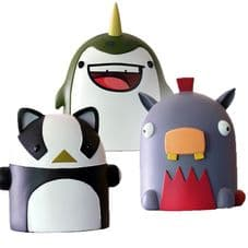 Vinyl Figure Triple Pack - Weebl Stuff
