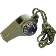 3 in 1 Whistle on lanyard