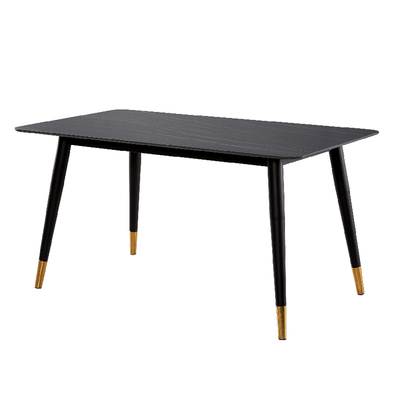 Alexander Marble Dining Table Black