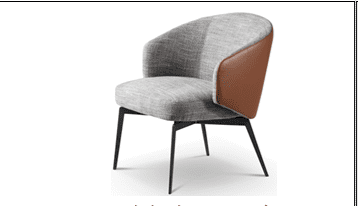 Lucca Fabric Lounge Chair-Single
