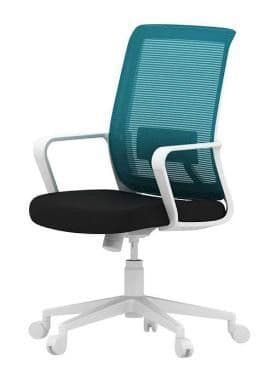 Office chair medium back ZYY-057-WH