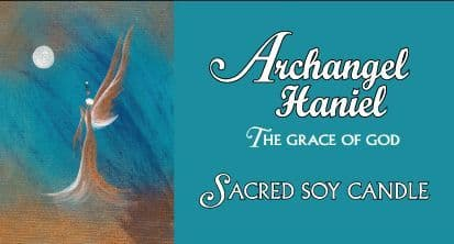 Archangel Haniel Candle