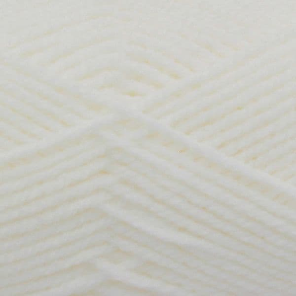 King Cole Big Value Baby DK 50g (4060) White