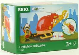 BRIO 33797 Firefighter Helicopter