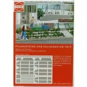 Busch 07872 Planters and Palisades - reduced