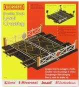 Hornby R0636 R636 Double Track Level Crossing
