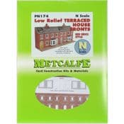 Metcalfe PN174 Low Relief Red Brick Terraced House Fronts