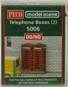 Modelscene 5006 Telephone Kiosks