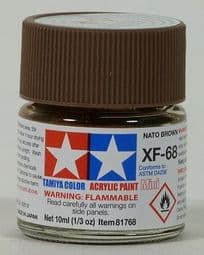 Tamiya 81768 XF68 NATO Brown