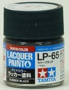Tamiya 82165 LP65 Rubber Black