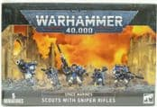 Warhammer 4829 Scouts with Sniper Rifles