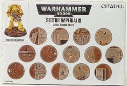 Warhammer 6691 Sector Imperialis: 32mm Round Bases