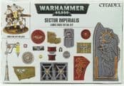 Warhammer 6694 Sector Imperialis Large Base Detail Kit