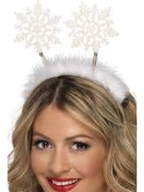 White Snowflake Head Boppers
