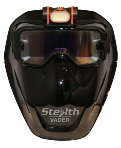 Stealth Vader True Colour  Auto Darkening Mask/Goggles with LED