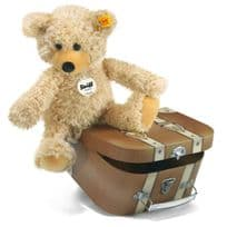 Charly Teddy in Suitcase