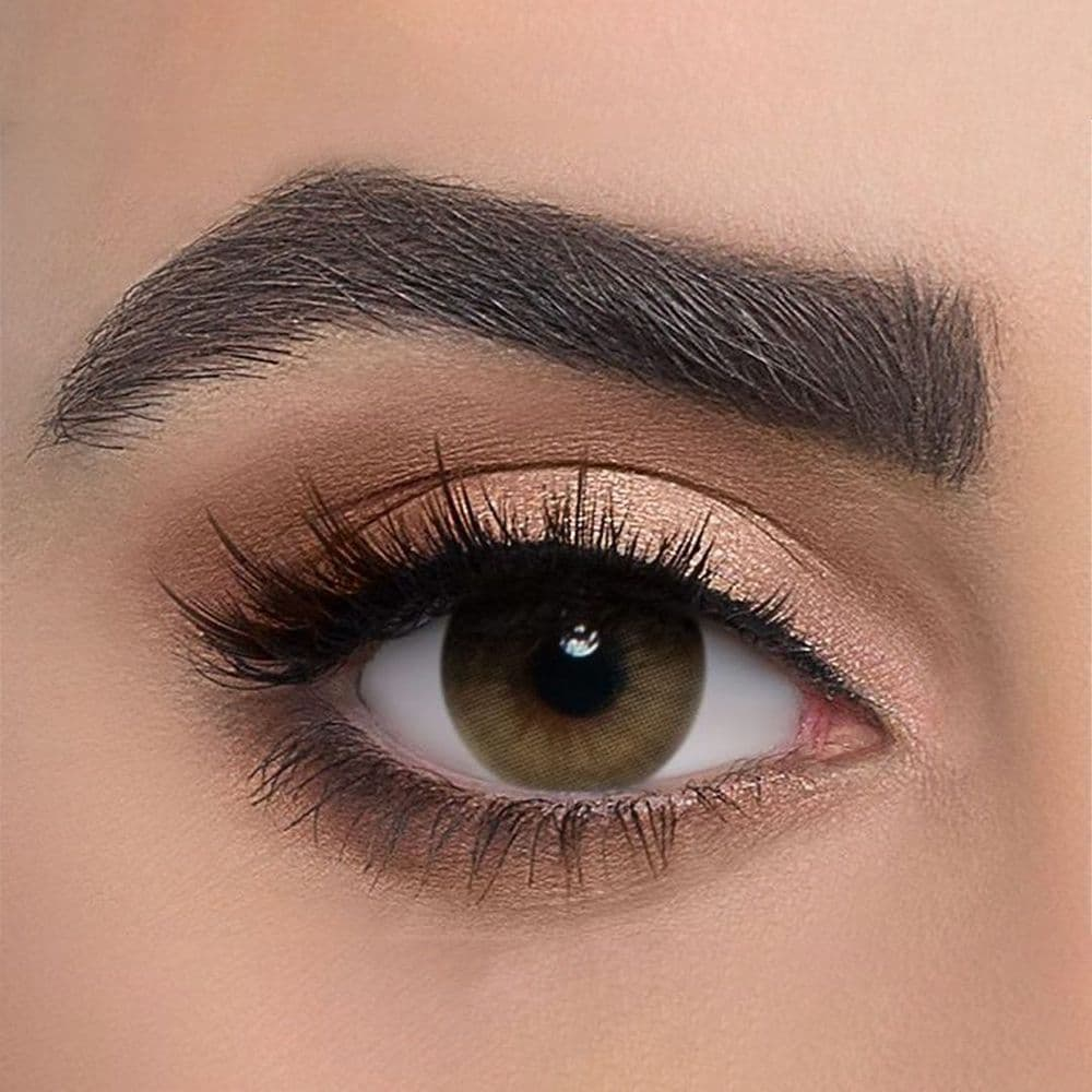 Dahab Creamy Yearly Coloured Contact Lenses