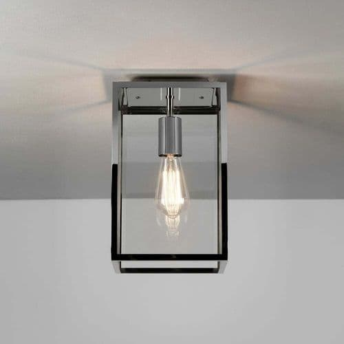 Astro 1095022 Homefield Outdoor Ceiling Light Polished Nickel
