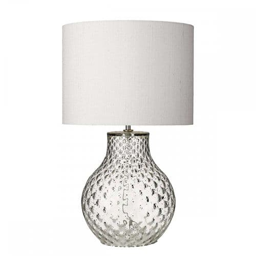 David Hunt AZO4108 Azores Small Clear Table Lamp Base Only