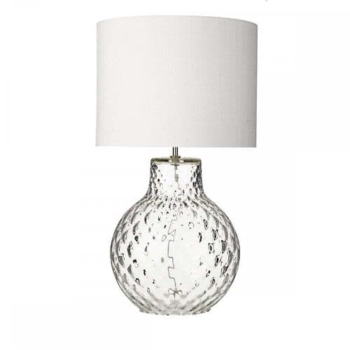 David Hunt AZO4308 Azores Large Clear Table Lamp Base Only