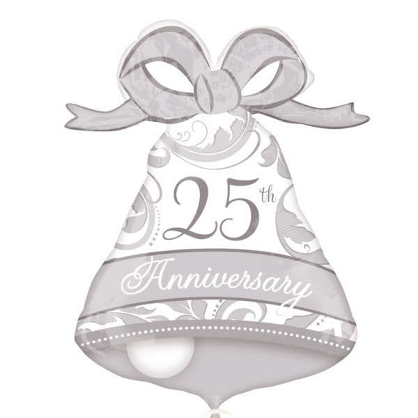 25th Anniversary Bell SuperShape