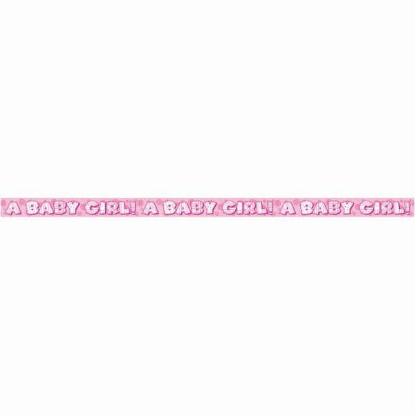 A Baby Girl Banner