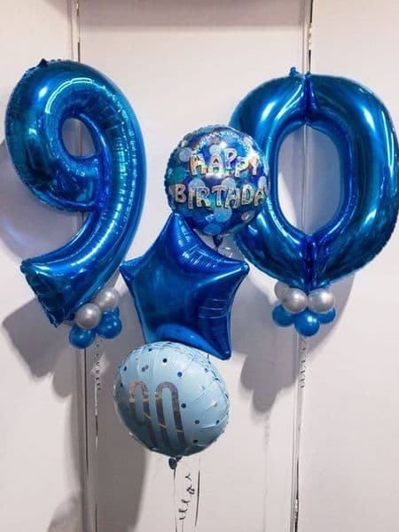 Birthday Numbers and Foil Set