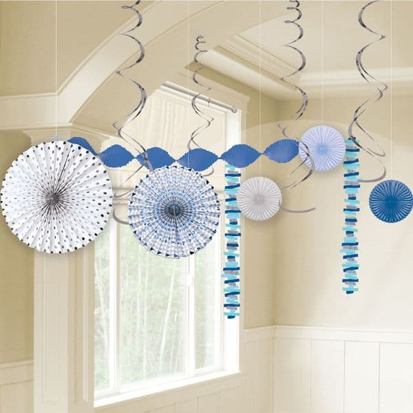 Blue First Holy Communion Room Decoration Kit