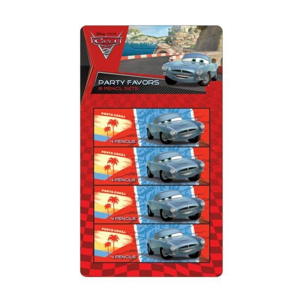 Cars Pencil Set