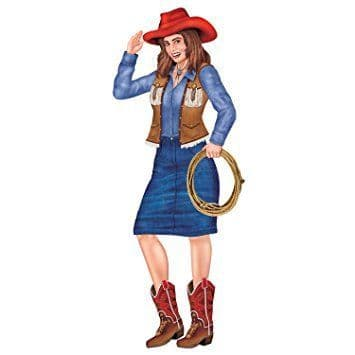 Cowboy - Cowgirl Jointed Figure
