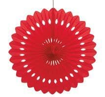 Decorative Fans - Red