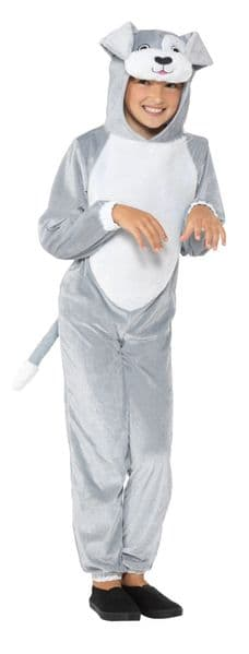 Dog Costume - Grey