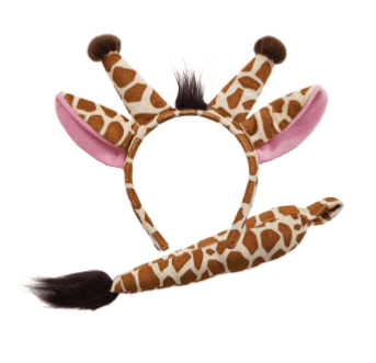 Ears & Tail - Giraffe