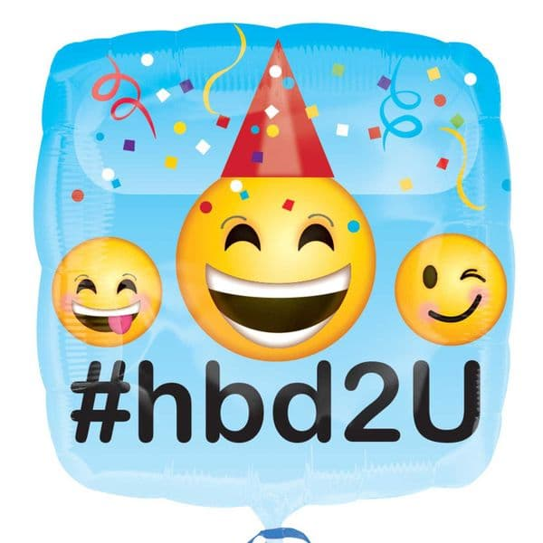 Emoticon Hbd2u