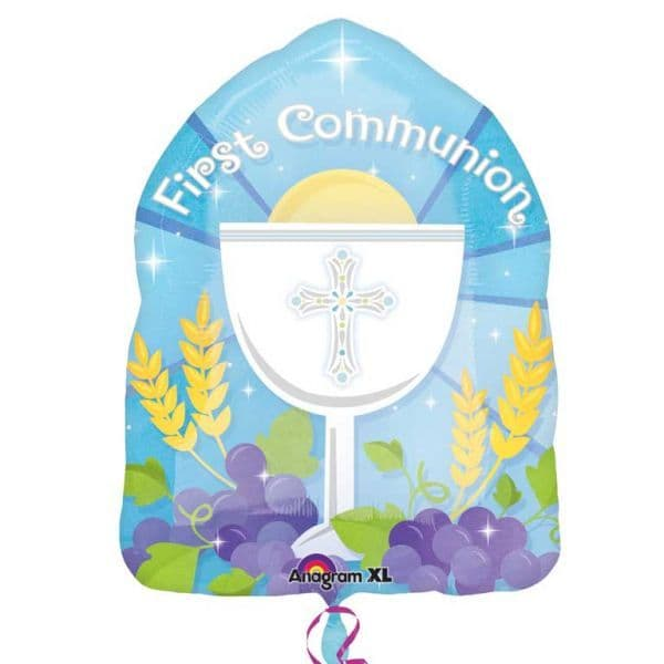First Communion Blue Jr. Shape