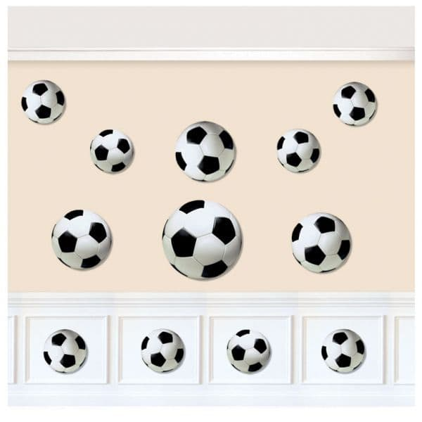 Football Party Assorted Card Cut-outs