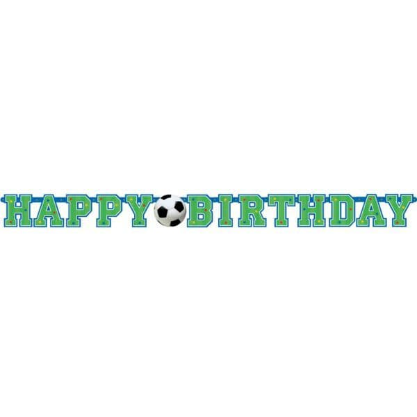 Football Party Letter Banner