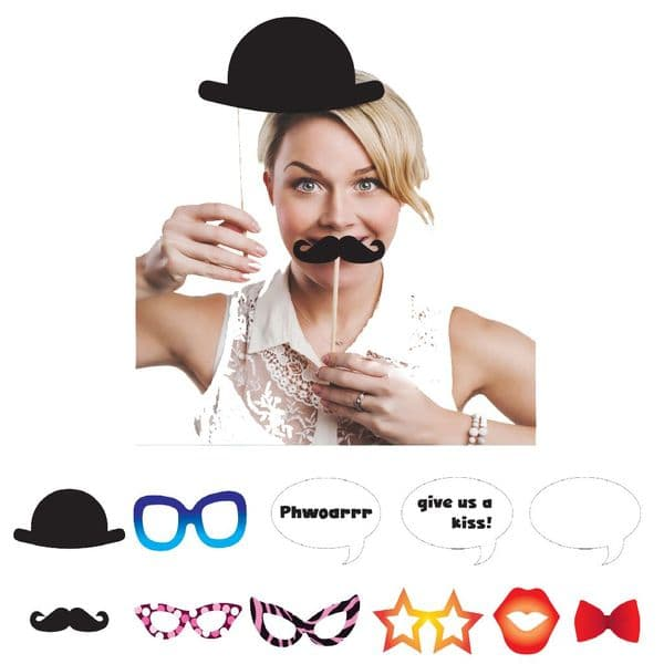 Fun Photo Prop Kit