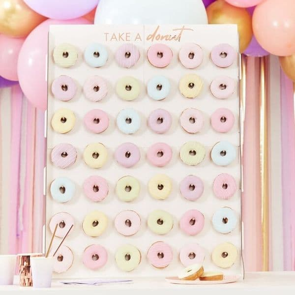 Giant Donut Wall Display Stand