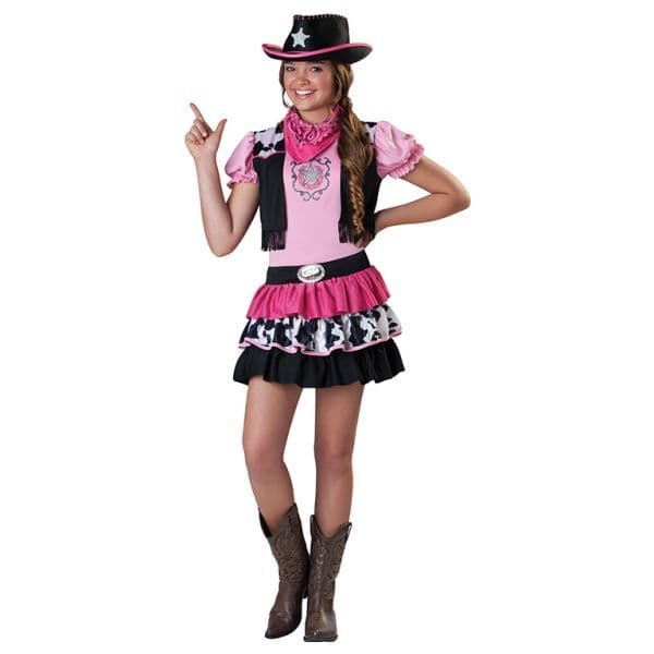 Giddy Up Girl Cowgirl Costume