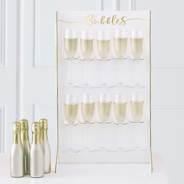 Hen Party Prosecco Wall